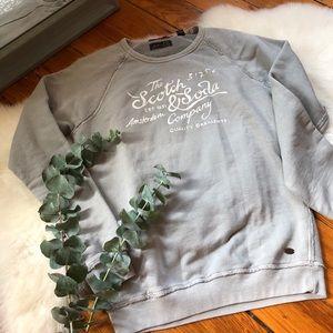 Scotch & Soda💕Crewneck Vintage Pullover Sweater M